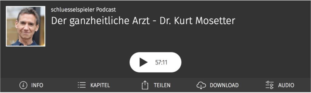 Kurt Mosetter im schluesselspieler Podcast