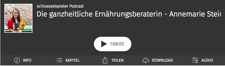 Annemarie Stein im schluesselspieler Podcast