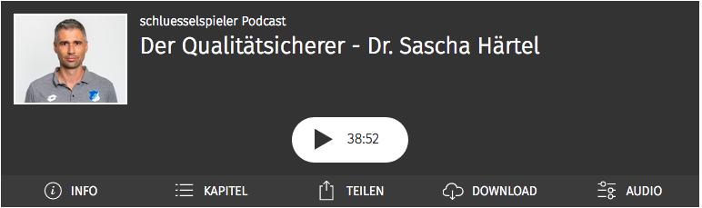 Sascha Härtel im schluesselspieler Podcast