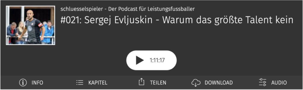 Sergej Evljuskin im schluesselspieler Podcast