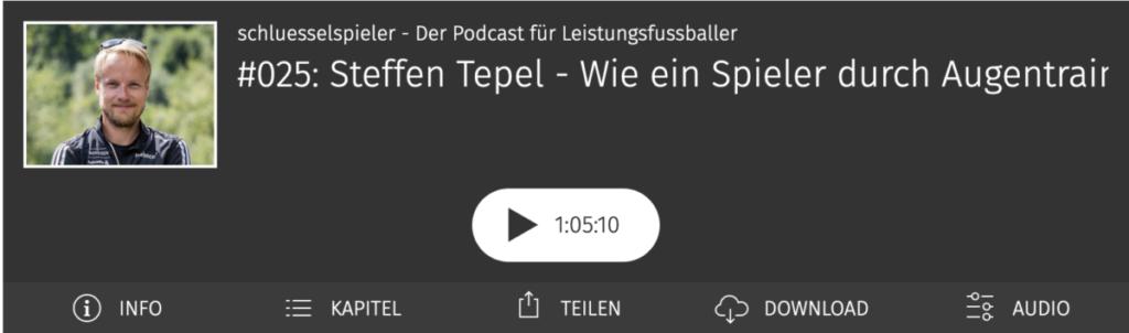 Steffen Tepel im schluesselspieler Podcast