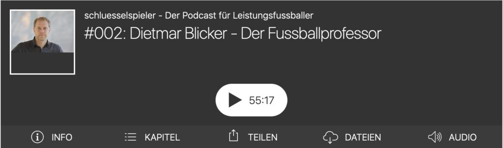 Dietmar Blicker - Der Fussballprofessor