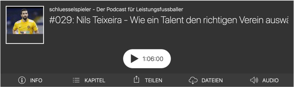 Nils Teixeira im schluesselspieler Podcast