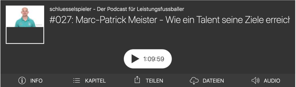 Marc-Patrick Meister im schluesselspieler Podcast