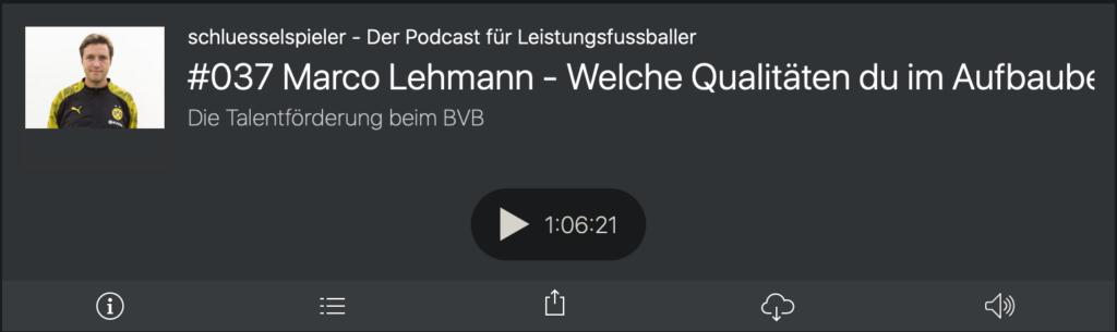 Folge 37: Marco Lehmann im schluesselspieler Podcast